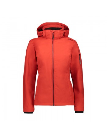 CMP - Softshell Donna - Rosso